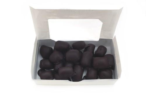 dark chocolate covered ginger