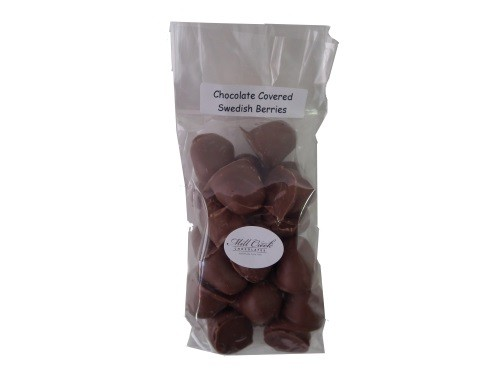 chocolate covered red berries