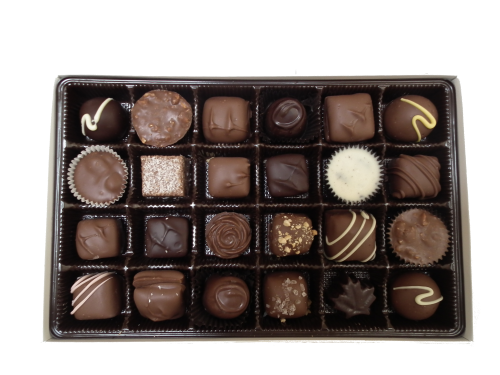 330g assorted handmade chocolates