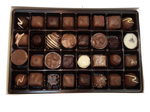 450g assorted handmade chocolates