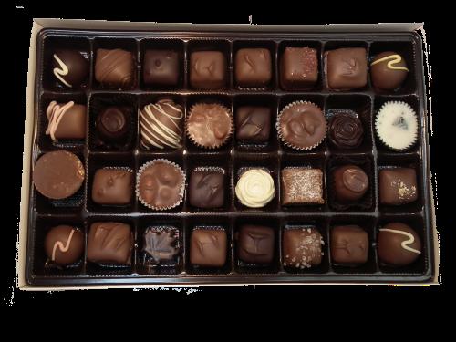 450g assorted handmade chocolates