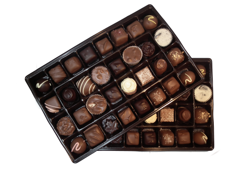 920g assorted handmade chocolates
