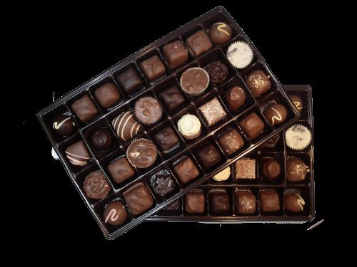 920g assorted handmade chocolates