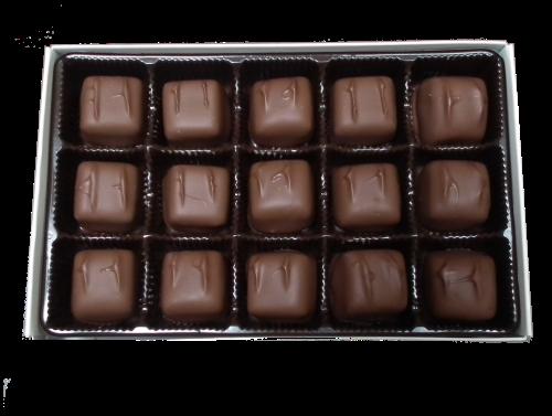 handmade caramel chocolates